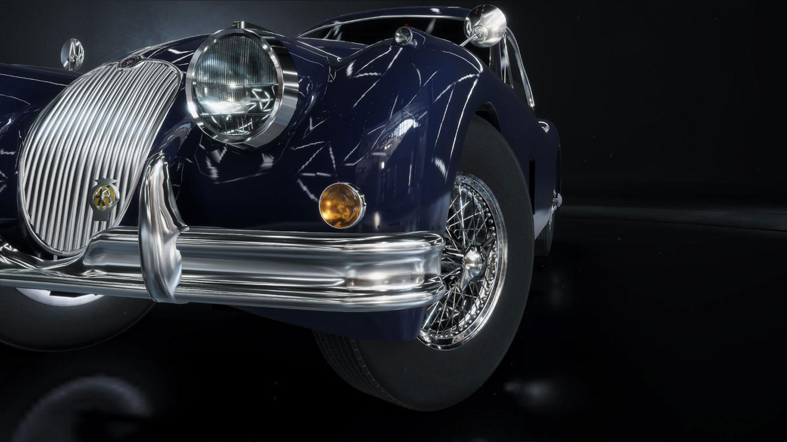 jaguarXK150_blue_detail