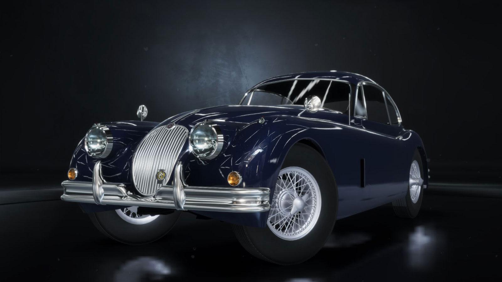 jaguarXK150_blue_front