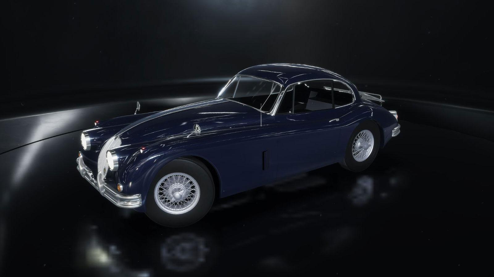 jaguarXK150_blue_side